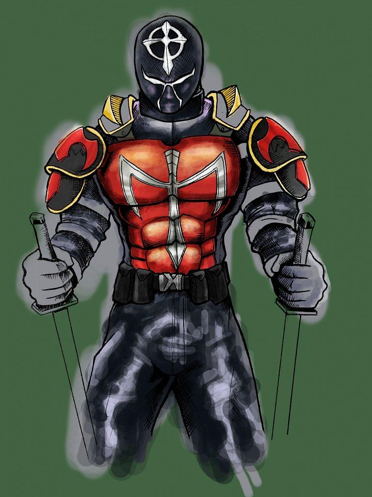 Character Digital Concept